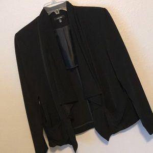 Black Rafaella cape style jacket size 10
